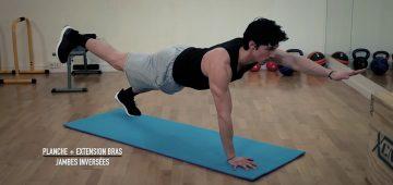 Exercices abdos difficiles